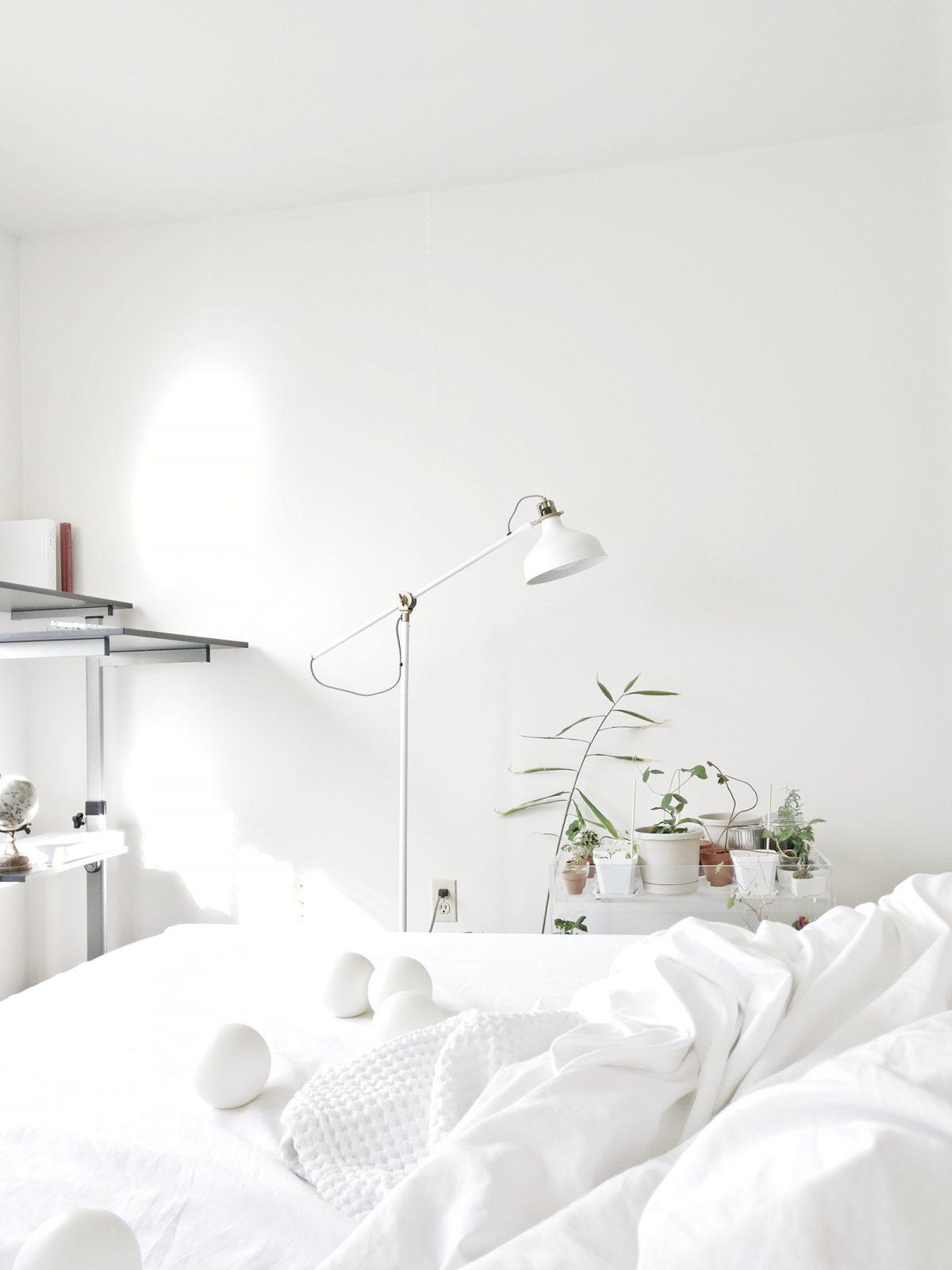 Chambray Fringe Quilt Cover – Mist